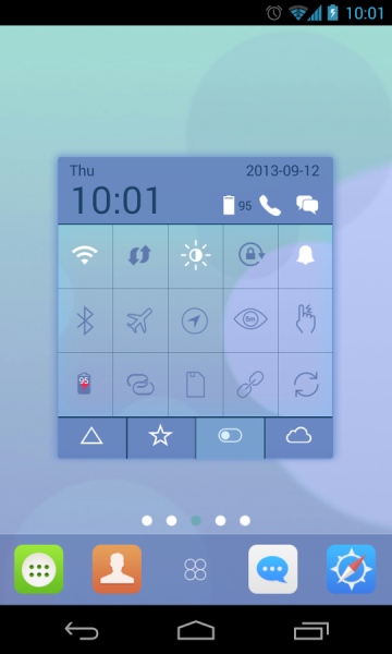 iO7 Toucher Pro Theme android