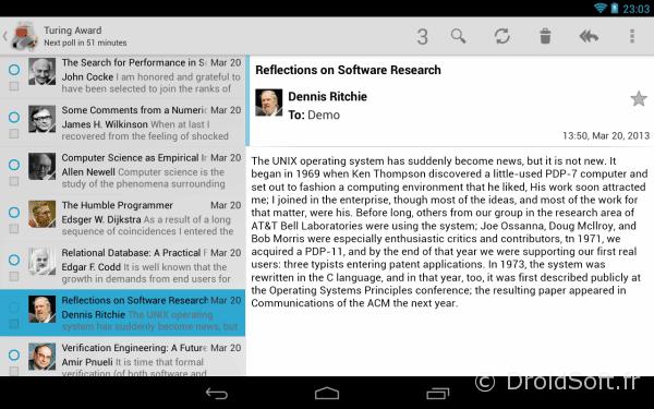 k9 mail app gratuite android