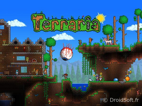 terraria android jeu