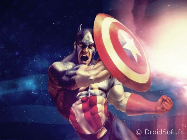 Captain America wallapper android fond gratuit