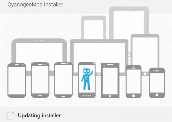 CyanogenMod Installer iPhone