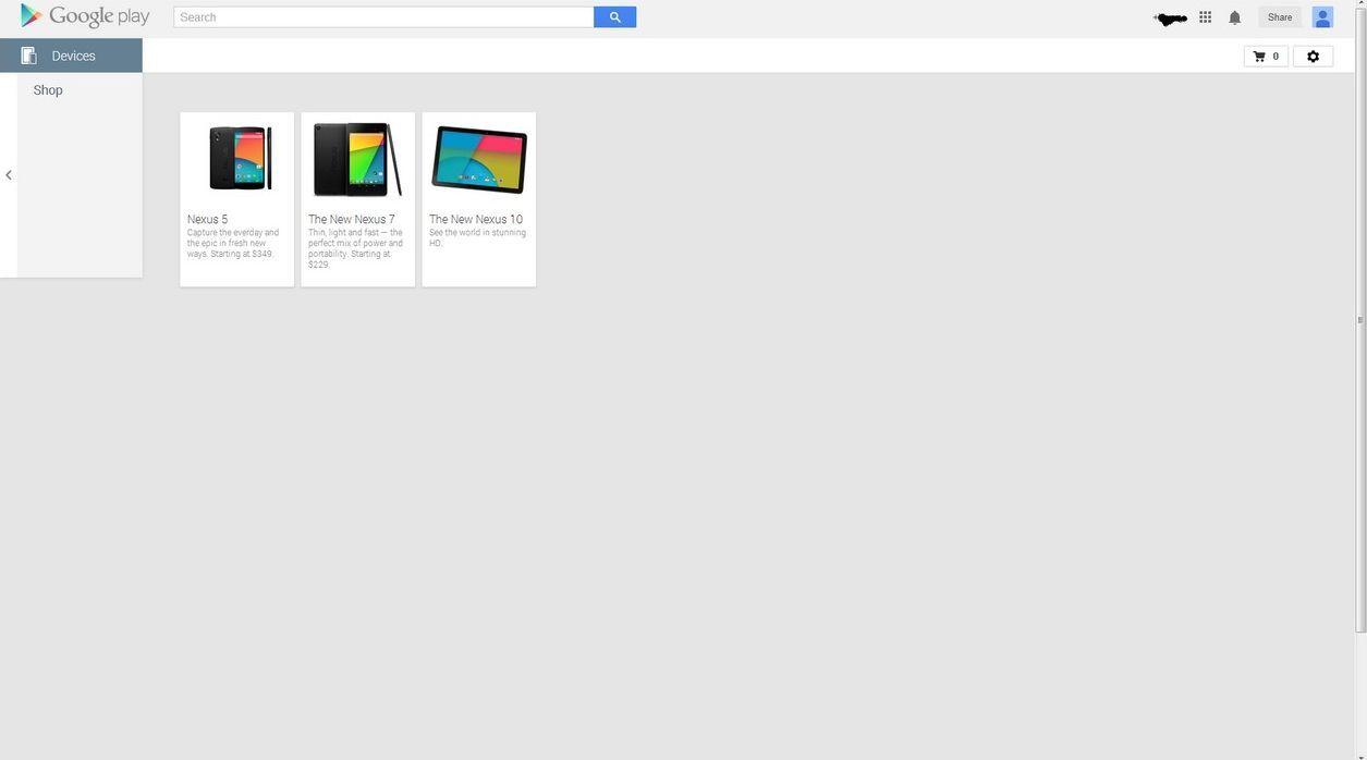 Nexus 10 2013 play store