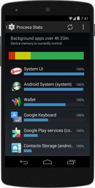 android 44 kitkat memoire