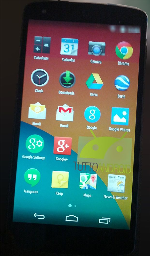 Android 4.4 Kitkat : des images du lockscreen et du
