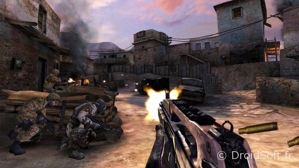 call of duty strike team android jeu