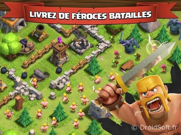 clash of clans android jeu gratis