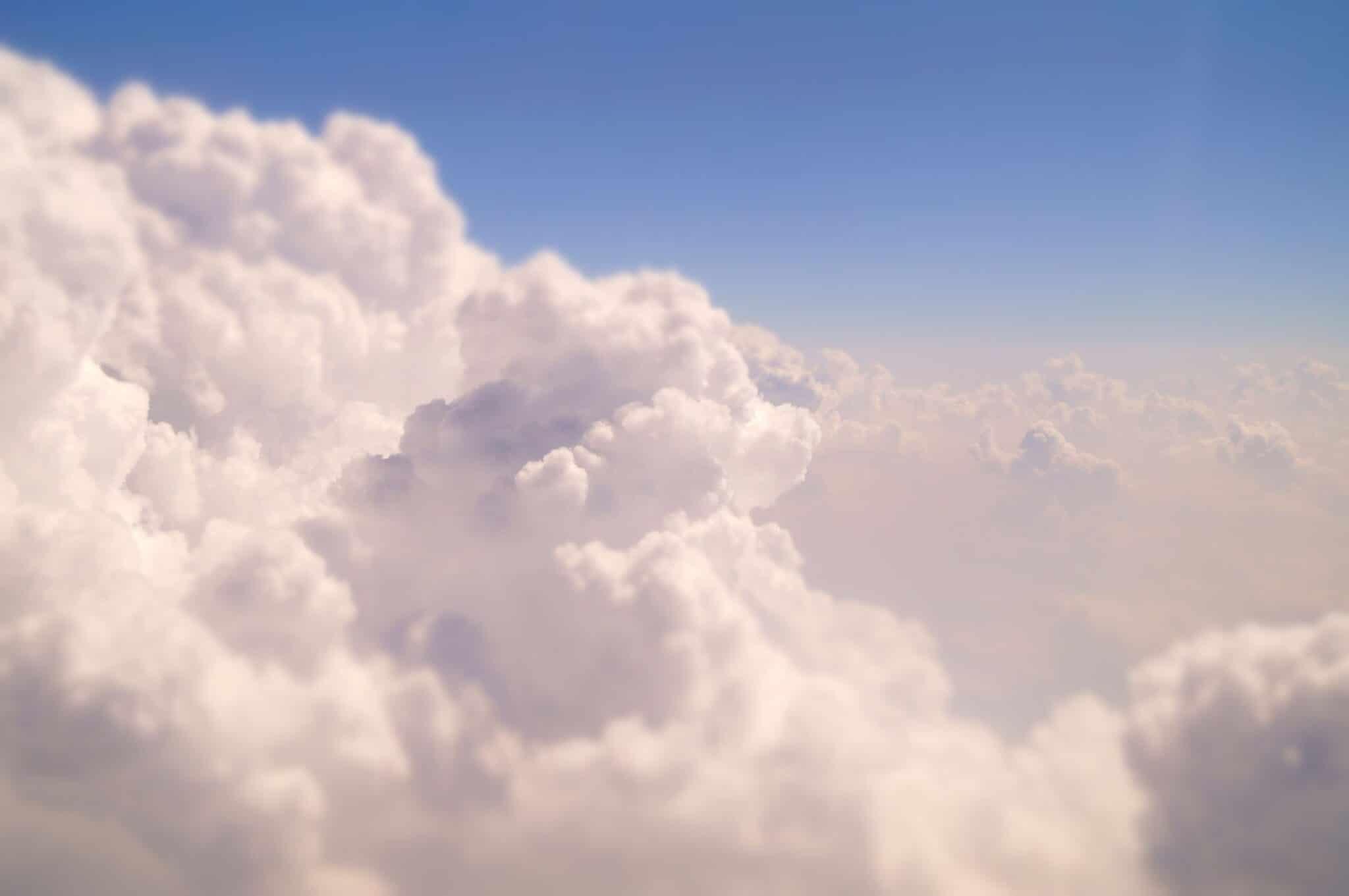 clouds android wallpaper fond ecran - DroidSoft