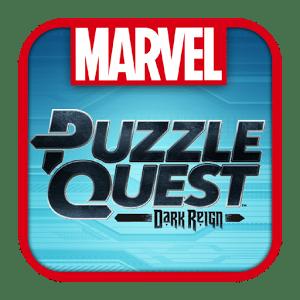 logo Marvel Puzzle Quest Dark Reign