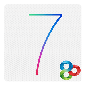 logo iPhone 5S/iOS7 Theme Go Lanchr