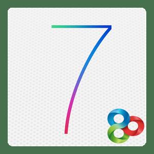 logo iPhone 5S/iOS7 Theme Go Lanchr