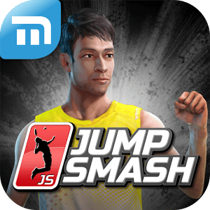 logo Badminton: Jump Smash