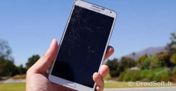 crash test galaxy note 3
