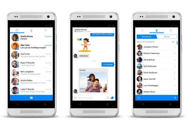 facebook messenger android nouvelle interface