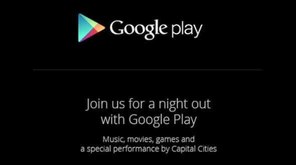 google 24 octobre 2013 keynote