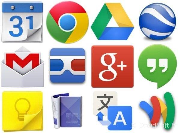 google met à jour apps 29 octobre