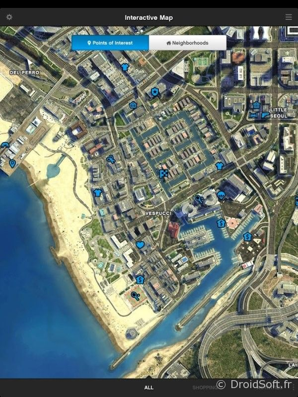 gta 5 android map