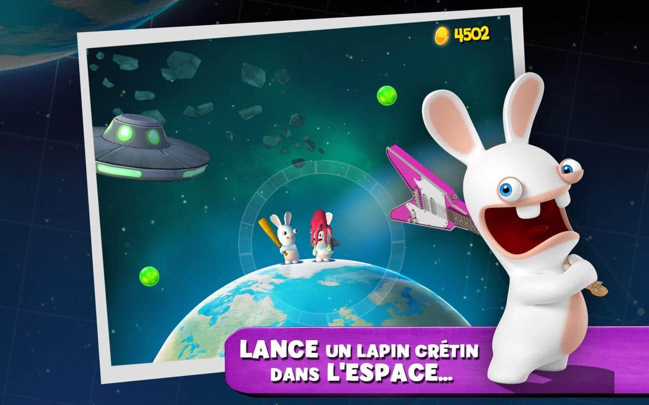 Derniers jeux android lapins cr tins big bang dead effect spartan wars droidsoft - Jeux lapin cretain gratuit ...