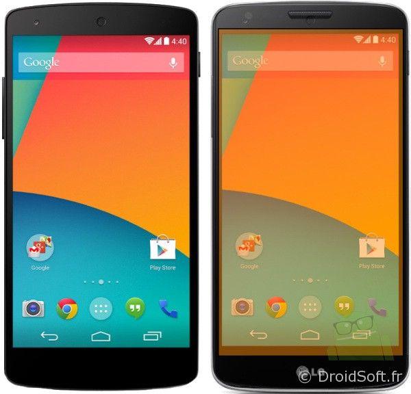lg g2 vs nexus 5 android