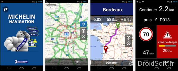 michelin navigation android