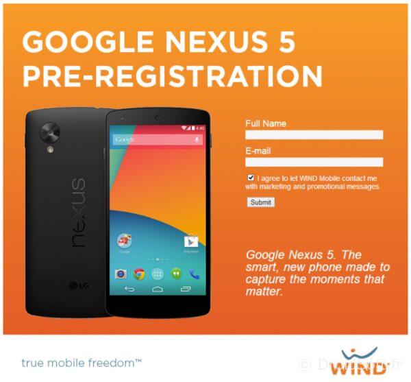 nexus 5 canada