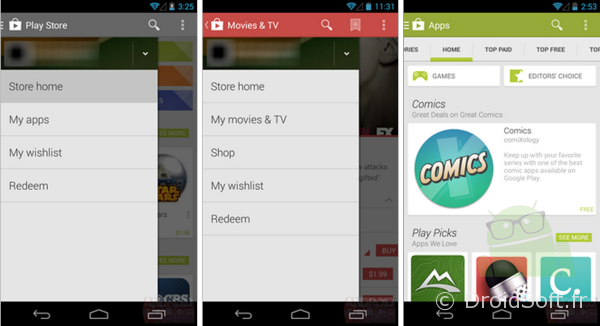 play store android 4.4 kitkat