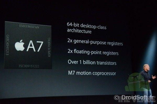 processeur a7 ipad