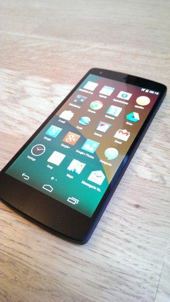 Nexus 5 côté droidsoft