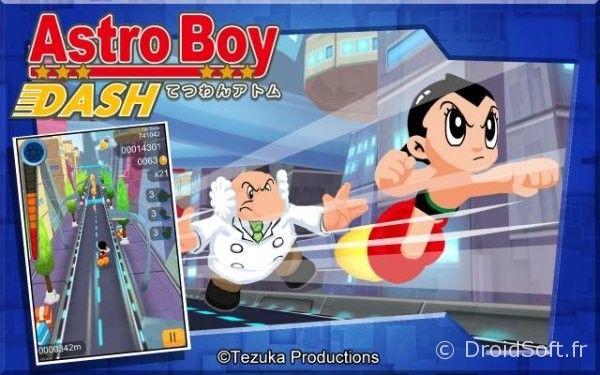 La course d'astro boy