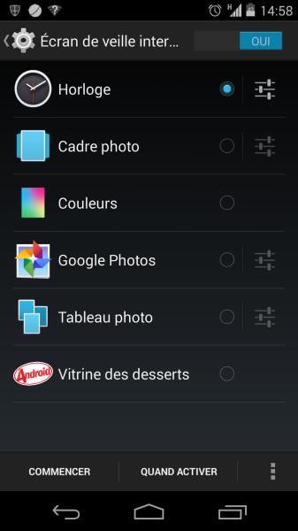 Nexus 5 android daydream tuto