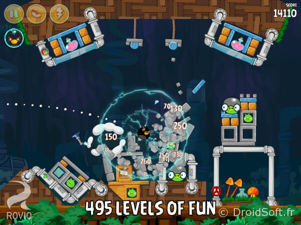 angry birds 500 niveaux