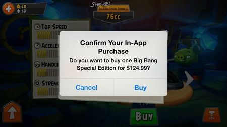 angry birds go in app