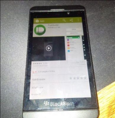blackberry google play