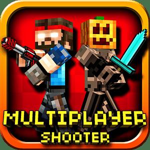 logo Pixel Gun 3D (Minecraft style)
