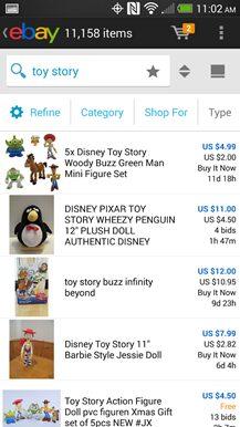 ebay recherche
