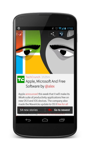 flyne android app gratuite