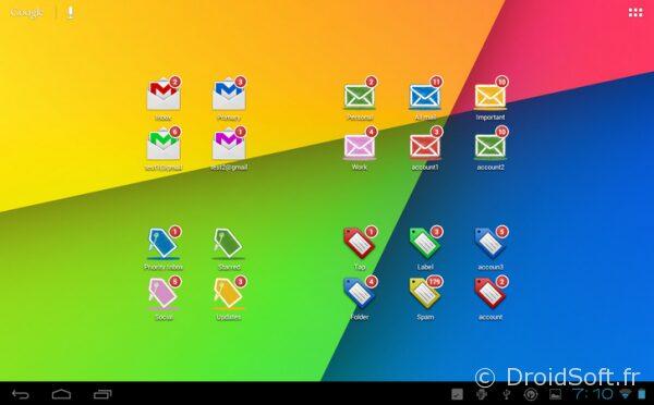 gmail unread counter