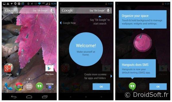 Google experience le launcher revu par google pour android kitkat