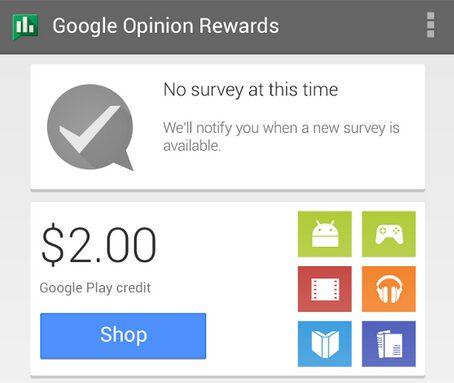 google sondage play