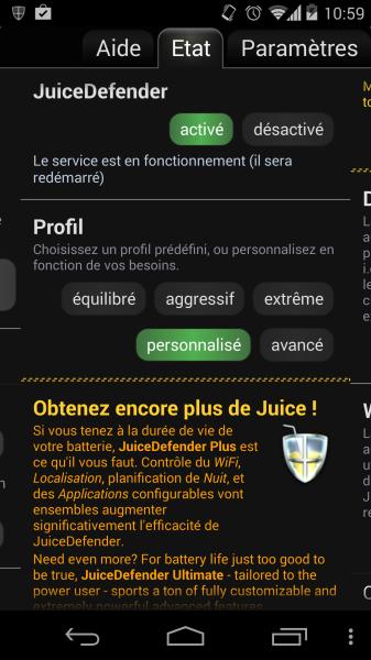 juice defender droidsoft android app gratuite
