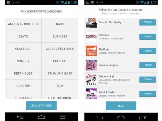 mixcloud app