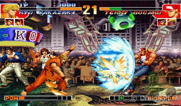 snk kof 97 android