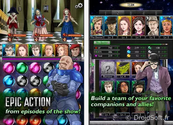 Doctor Who legacy android jeu gratuit apk