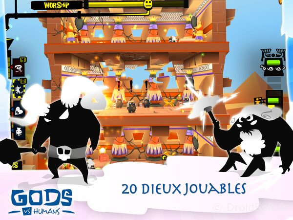 Gods VS Humans android jeu