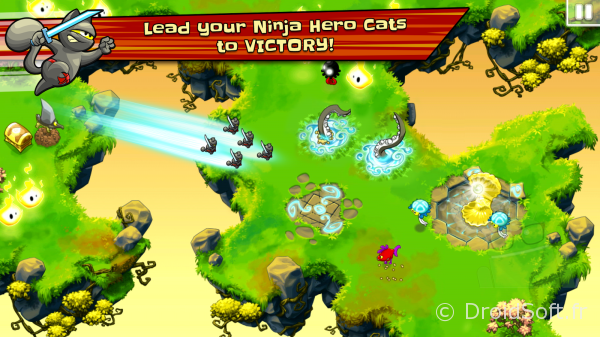 Ninja Hero Cats android