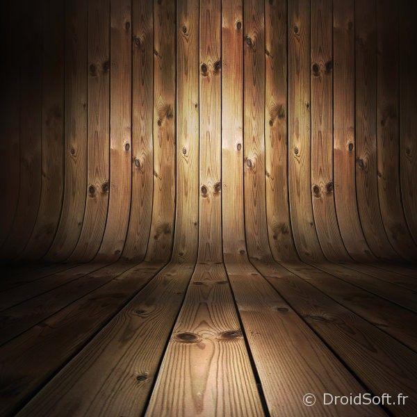 Sauna en bois wallpaper android fond ecran