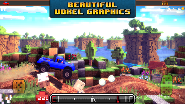 blocky roads jeu android crescent moon