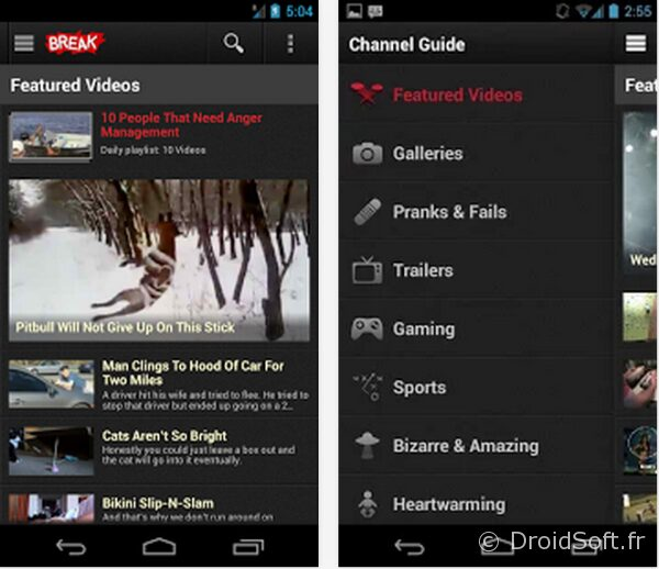 break video humour epic fail android
