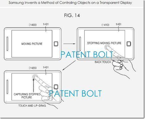 brevet-2 samsung dos tactile