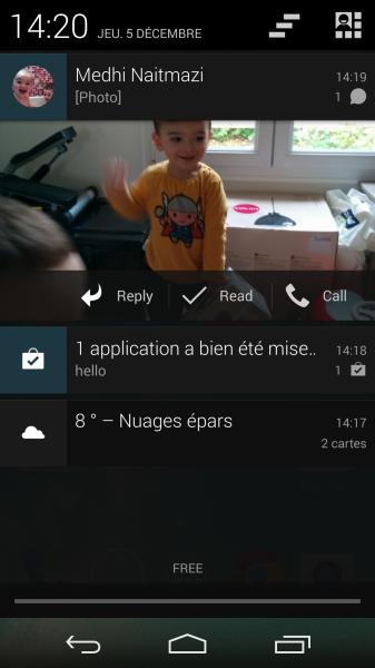 capture hello sms
