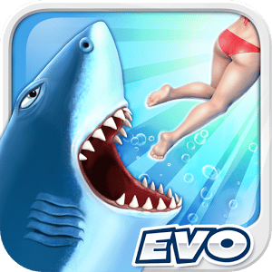 logo Hungry Shark Evolution